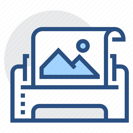 images, page, paper, picture, print, printer, sheet icon