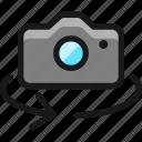 camera, settings, rotate