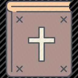 bible, book, christian, holy, jesus, religious, worship icon