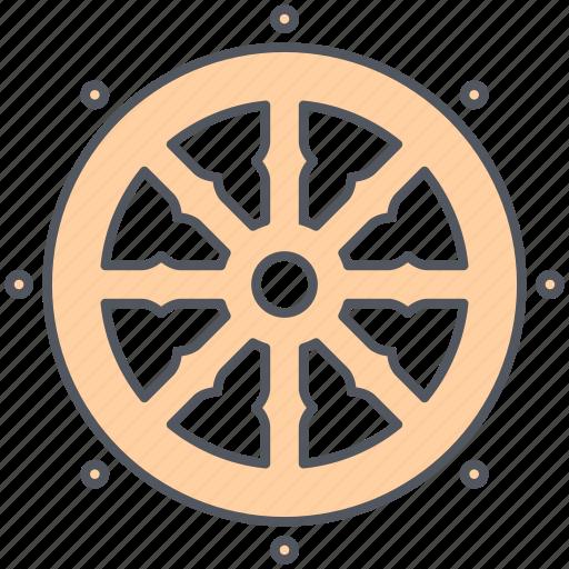 Buddhist, faith, worship, enlightenment, meditation, prayer, spirituality icon - Download on Iconfinder