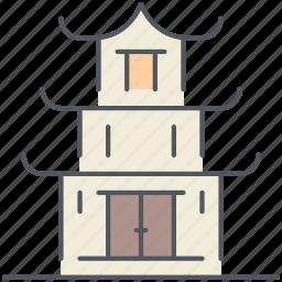 buddhist, church, enlightenment, prayer, spirituality, temple, worship icon