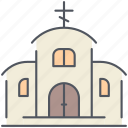 chapel, church, monastery, monk, orthodox, religion, worship icon
