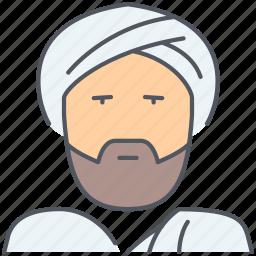 arab, arabic, islamic, mosque, muslim, religious, sheik icon