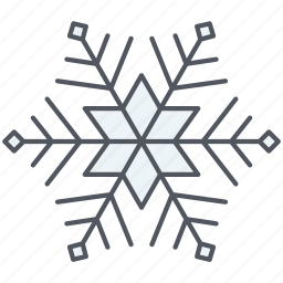 christmas, decoration, holiday, new year, snow, snowflake, winter icon
