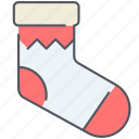christmas, decoration, holiday, new year, sock, surprise, winter