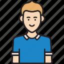 avatar, boy, man, user, young icon