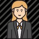ceo, female, business, suit, woman
