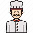 chef, male, cook, hat, inclusiveness, man