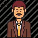ceo, male, avatar, business, man, moustache