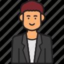 avatar, director, male, man, user icon