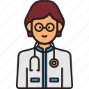 doctor, female, physician, stethoscope, woman