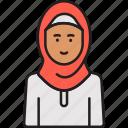 arabian, woman, female, hijab, muslim