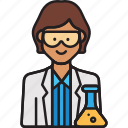 scientist, female, woman, lab, professor