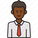 business, businessman, male, man, professional, tie icon
