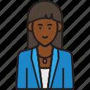 avatar, director, female, user, woman icon