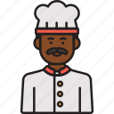 chef, male, cook, food, hat, man, moustache