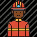firefighter, male, fire, helmet, man, rescue