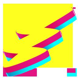 bonus, rave, shock icon