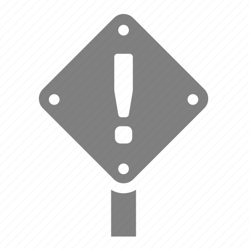 sign, square, under construction, warning icon