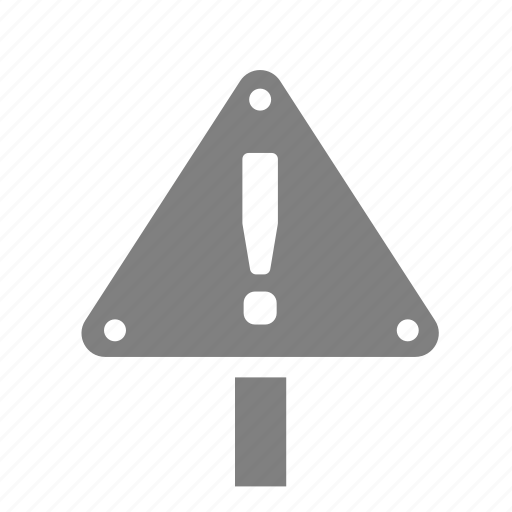sign, triangle, under sonstruction, urgent, warning icon