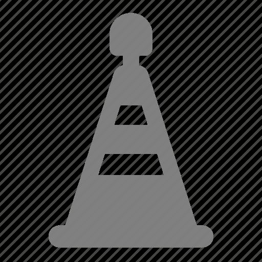 block, cone, sign, traffic, traffic cone, under construction, warning icon