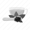cup, drink, food, indian, leaf, spoon, tea