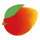cartoon, dieting, freshness, mango, nutritious, taste icon