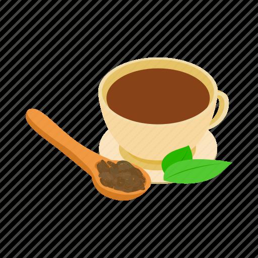 drink, dry, herbal, india, isometric, mint, tea icon
