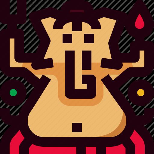 Ganasha, god, hindu, india icon - Download on Iconfinder