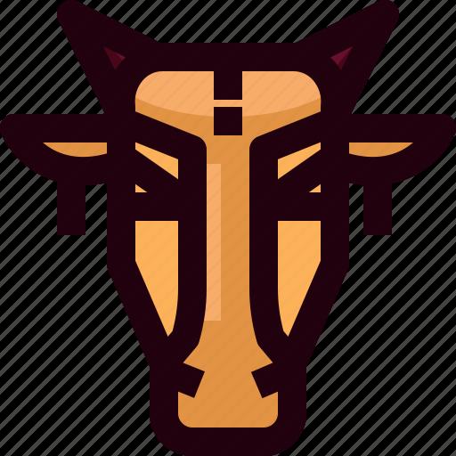 animal, brahmin, cattle, ceremony, cows, india, mammal icon