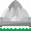 architecture, building, india, landmark, lotus, monument icon