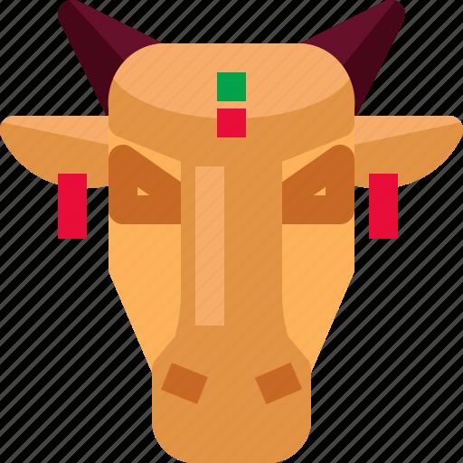 animal, brahmin, cattle, cows, india, mammal icon