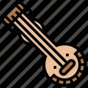 ekanda, instrument, music, veena icon