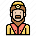 avatar, dress, male, man, uniform icon
