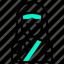 avatar, dress, female, uniform, woman icon