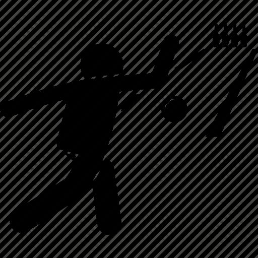 ball, bowler, bowling, lane, man, playing, throwing icon