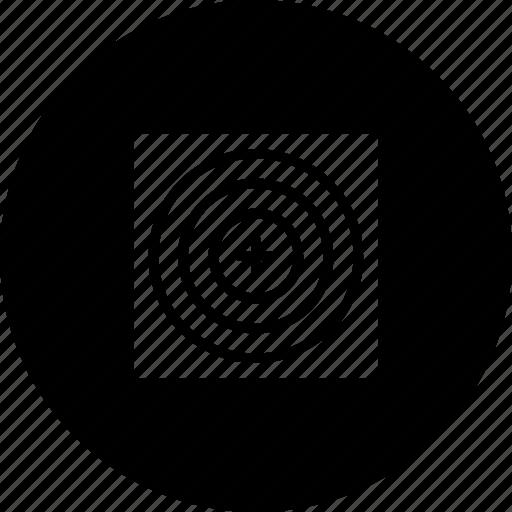 aim, focus, game, sport, target icon
