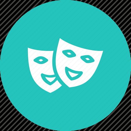 entertainment, fun, game, identical, mask icon