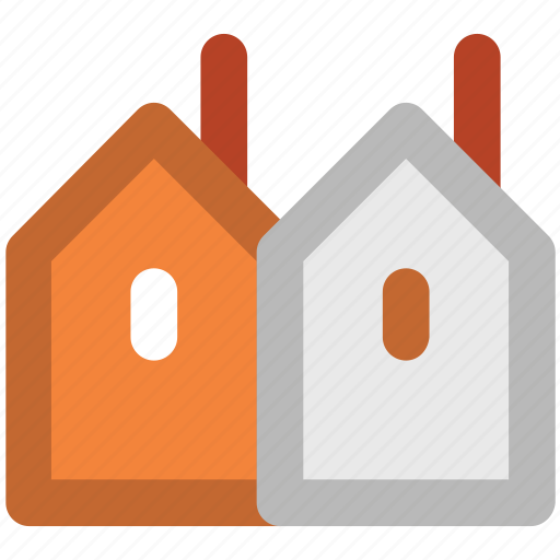 factory, industrial building, industry, manufacturing plant, mill, property icon