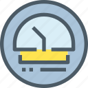 factory, gauge, industry, manufacture, production icon
