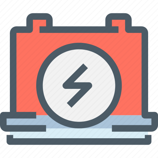 Battery, factory, industry, manufacture, production icon - Download on Iconfinder