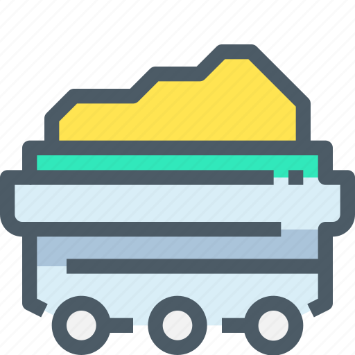 Coal, factory, industry, manufacture, production icon - Download on Iconfinder