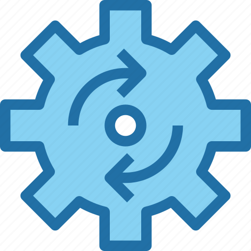 exchange, factory, industry, manufacture, process icon