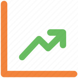 business, business report, diagram, growth, growth arrow, growth key, up key icon