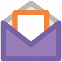 email, envelope, letter, letter envelope, mail, mailbox, message icon