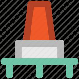 cone pin, construction cone, road cone, traffic cone, traffic cone pin icon