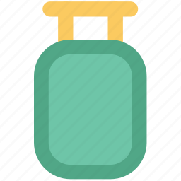 cylinder, engine, oxygen, oxygen cylinder, oxygen tank, pail cylinder icon
