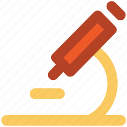 experiment, lab equipment, laboratory, microscope, research, science icon