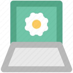cog, cogwheel, laptop setting, lcd, screen, setting icon