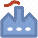 chimney, factory, factory chimney, industry, nuclear plant, radiation icon